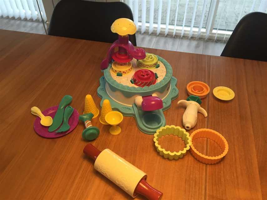 Play doh Kage/is sæt
