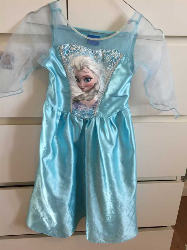 Disney Elsa kostume /Udklædning